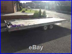 Car Transporter Trailer carry upto 2.1 Ton, Hydraulic Tilt Bed 4000kg Elec Hoist