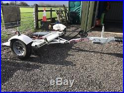 Car recovery towing dolly
