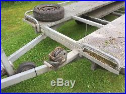 Car trailer 2 ton transporter