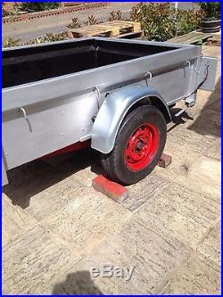 Car trailer Lynton 6x4