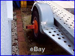 Car trailer transporter
