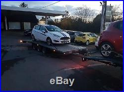 Car transporter/recovery trailer