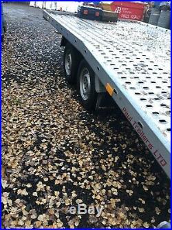 Car transporter trailer