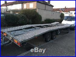 Car transporter trailer 3500 kg
