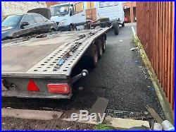 Car transporter trailer 3.5 T