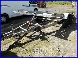 Car transporter trailer BRANDERUP HYDRAULIC TILT