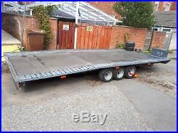 Car transporter trailer Brian James 3.500kg