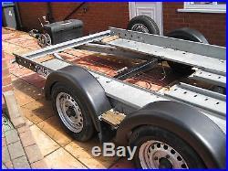 Car transporter trailer PRG