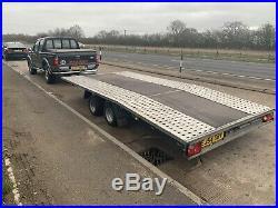 Car transporter trailer, Twin Axle 2700kg