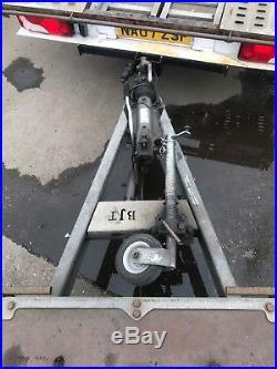 Car transporter trailer brian james tt