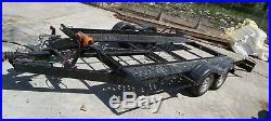 Car transporter trailer, tilt bed, 16ft, very good condition