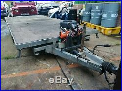 Car transporter trailer triaxle 3.5 tonne