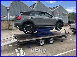 Car / vehicle Mobile Trailer scissor lift Ramp