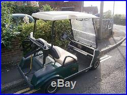 Club Car Golf Buggy Golf Kart / Cart Electric Golf Scooter 2 Seater 48v Trailer