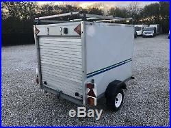 Conway 6x4 X4 Car Box Trailer With Roof Rack & Spare Set Of Wheels L@@K