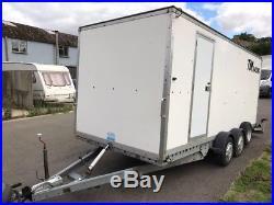Covered Car Trailer Transporter