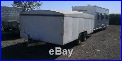 Covered Car Trailer Transporter Cheap 5x2m Brian James