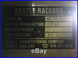 Dastle Racebox Car Transport Trailer