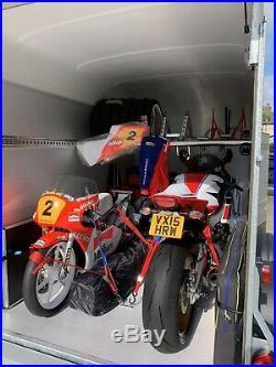 Debon C500 Box Trailer. The Perfect Motorcycle Trailer