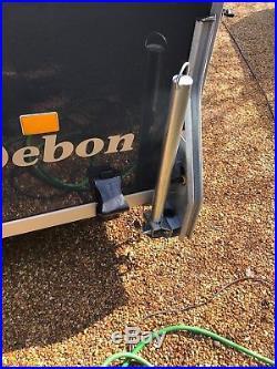 Debon box trailer no VAT