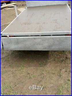 Drop side trailer flat bed general purpose builder landscape steam rally DELIVER