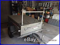Erde 142 trailer with ladder rack