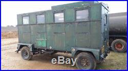 Ex Army control center trailer