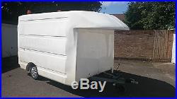 Ex Bt Box Trailer AL-KO Chassis