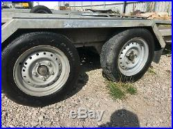 Ex-Hire Indespension CT27147 14ft Twin Axle Car Transporter Trailer 2700KG