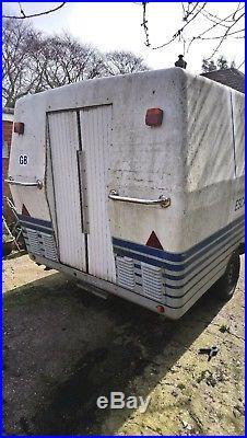 Ex flight simulator possible exhibition catering advertising caravan trailer
