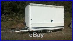 Exhibition display trailer