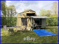 Expedition Trailer (Sankey Trailer) Overland trailer