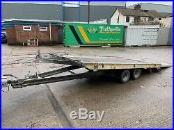 FITZEL Tilting Car Transporter Trailer 2700kg twin axle