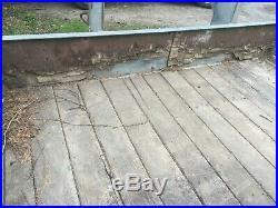 Fifth Wheel Goose Neck Flat Bed Trailer