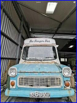 Ford Transit Mk1 1971 Vintage Catering Trailer/Van/Food Truck -Classic Car/van