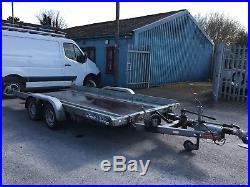 Fountain car transporter trailer