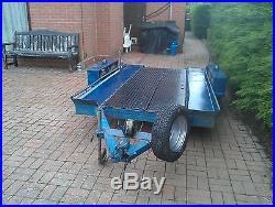 Four wheel Car / Machinery Transporter Trailer