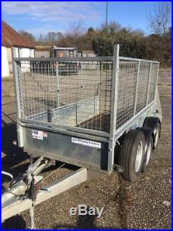 GD 84 Trailer Ifor Williams General use/Plant trailer with cage sides