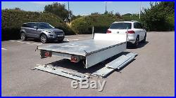 GERMAN TIPPER TRAILER 3.5 TON 12/6 foot DOUBLE SIDES 3 WAY TIPPER