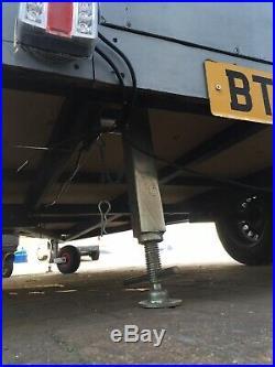 Geodesic TEARDROP CAMPING TRAILER POD Tent caravan Mini airstream Aluminium