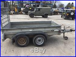 Graham edwards trailer-builders trailer-car trailer-8x4 twin axle trailer