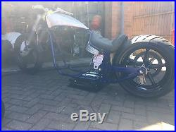 HARLEY sportster rolling chassi project softail