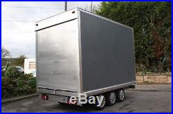 HUGE Fully Braked Tri-Axle Box Trailer