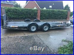 Hazelwood Tilt bed, car transporter Trailer, ex AA