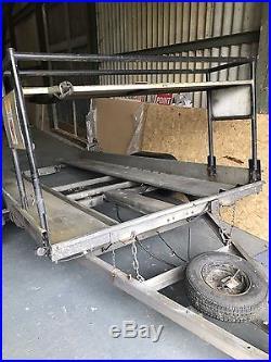 Hazlewood Tilt Bed Car Transporter trailer