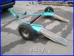 Heavy Duty Car Towing Dolly Recovery A Frame half Trailer transporter fold up
