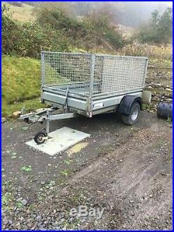 Heavy duty trailer. 750kg 6'6 x 4