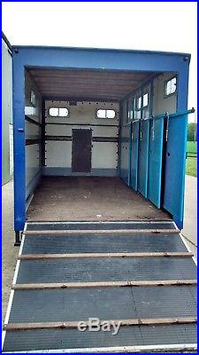 Horsebox. Horse Trailer. Box Trailer. Carriage Trailer. Race Car Transporter