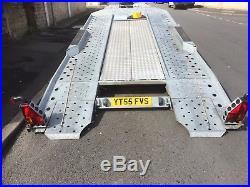 IFOR WILLIAMS CT177 CAR TRAILER/TILT BED Transporter 3.5 tonne