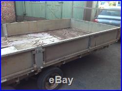 IFOR WILLIAMS LM166 16X6.6 3500kg 16x6 3.5 TON 16FT CAR TRANSPORTER TRAILER
